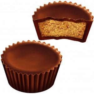 ממתקי חמאת בוטנים - שוקולד